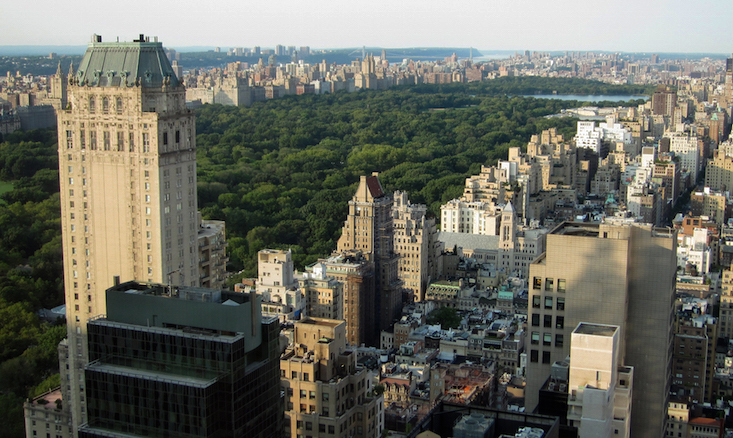 View of Central Park, New York City (photo: alan-light, CC BY 2.0)