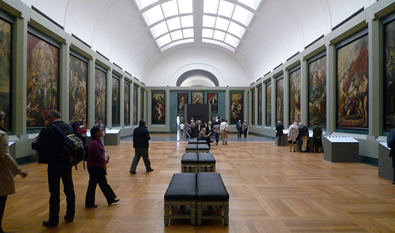 View of the Marie de Medici cycle by Peter Paul Rubens in the Louvre (photo: Steven Zucker, CC BY-SA 2.0)
