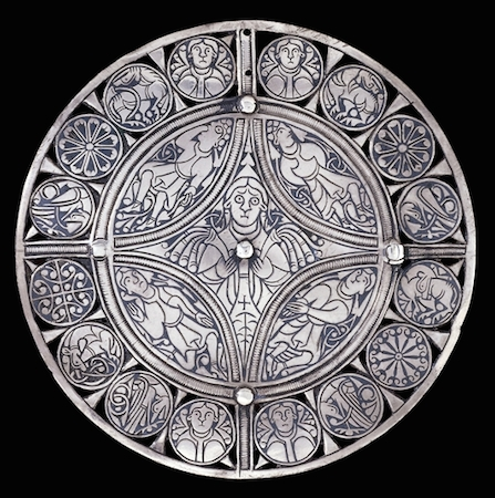 The Fuller Brooch, Anglo-Saxon, late 9th century, 11.4 cm in diameter, © Trustees of the British Museum