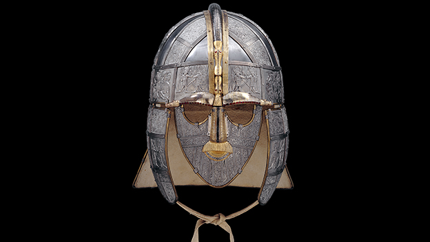 Replica of the helmet
