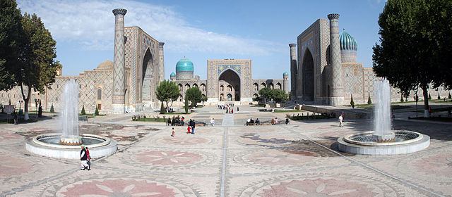 Registan, Samarkand, Uzbekistan, 15th-17th centuries