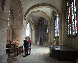 Ambulatory, Gloucester Cathedral