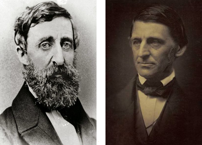 a comparison of beliefs between henry david thoreau and ralph waldo emerson And the first publications of a young friend of emerson's, henry david thoreau american transcendentalism and ralph waldo | hume, david: on religion.