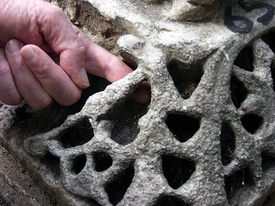 Deep Carving of Capital Fragment, Hagia Sophia (photo: William Allen, CC BY-NC-SA 2.0)