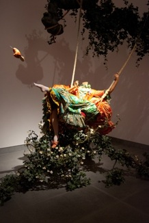 Yinka Shonibare MBE, The Swing (After Fragonard), 2001 (Tate, London) © Yinka Shonibare