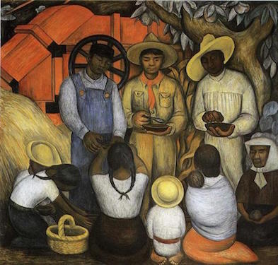 Diego Rivera, Triumph of the Revolution, 1926, Autonomous University of Chapingo, Mexico (photo: Joaquín Martínez, CC BY 2.0)