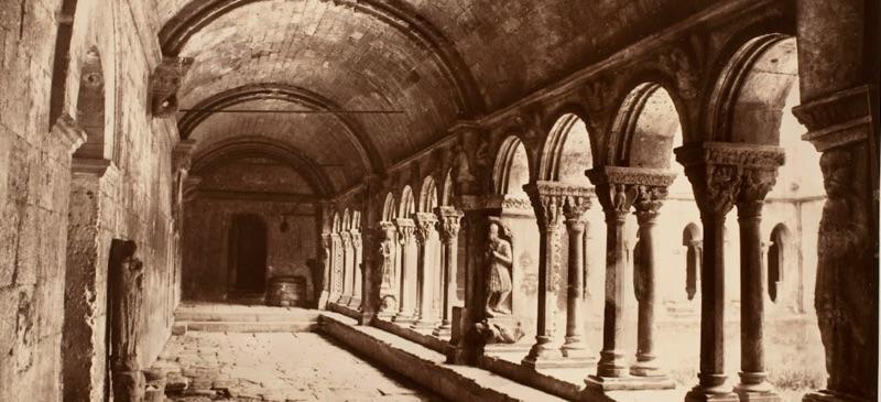 Édouard Baldus, Arles, Cloitre St. Trophime [north gallery, c. 1861 (George Eastman House)