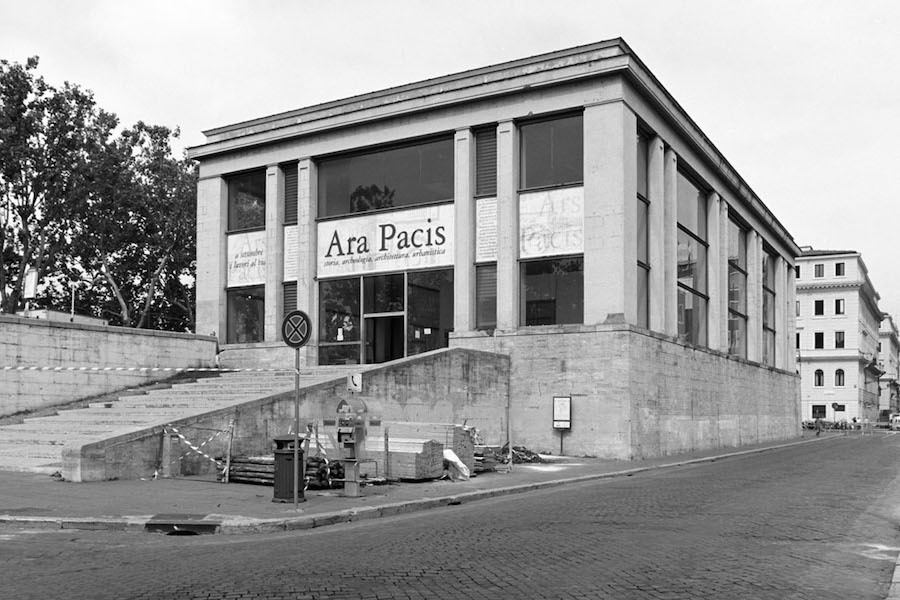Vittorio Ballio Morpurgo, Ara Pacis Pavillion, 1938 (photo: Indeciso42 CC BY-SA 4.0)