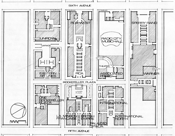 Rockefeller Center plan