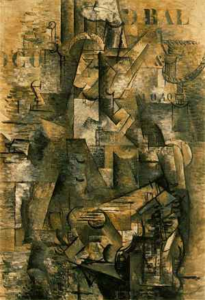 What style is the portuguese by georges braque