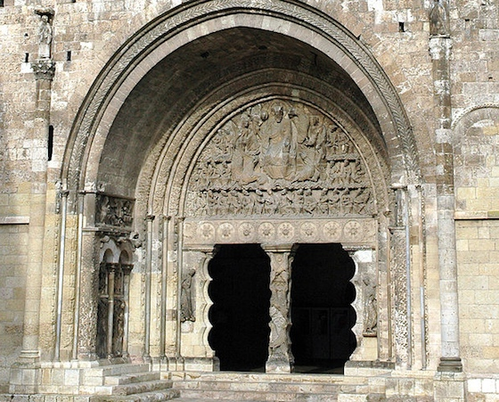 South portal, Saint-Pierre, Moissac, c. 1115-30 (photo: Josep Renalias, CC BY-SA 3.0)