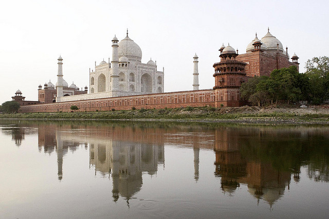 View from the Mahtab Bagh, Taj Mahal, Agra, India, 1632-53 (photo: Steve Evans, CC BY-NC 2.0)