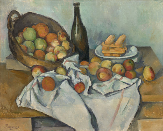 Paul Cézanne, The Basket of Apples, c. 1893, oil on canvas, 65 x 80 cm (Art Institute of Chicago)