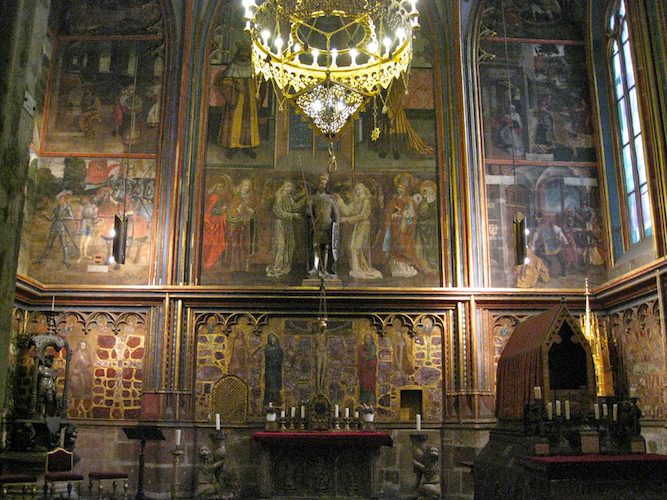 Chapel of Wenceslas, Prague Cathedral (photo: Woodlet, CC BY-NC-ND 2.0)