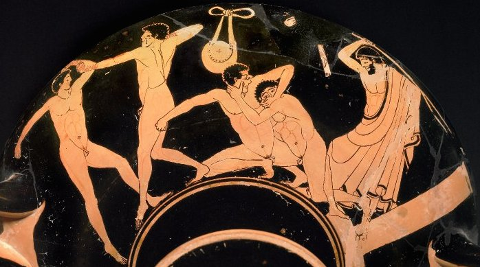 Olympic games ancient greece prizes and awards