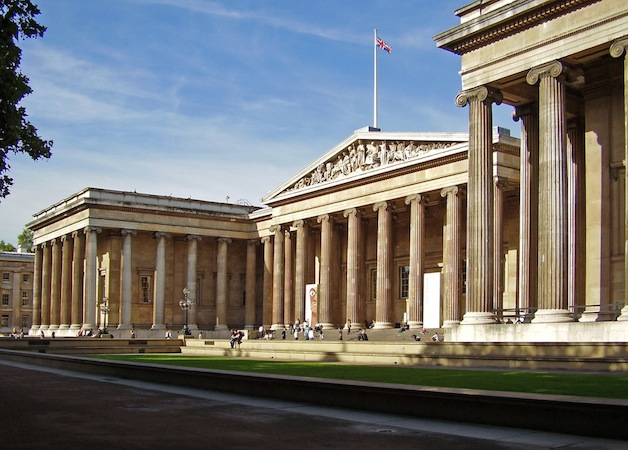 Robert Smirke, South Portico, built 1846-47, The British Museum, 1823-57 (London)