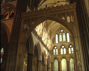 Transept of Salisbury Cathedral