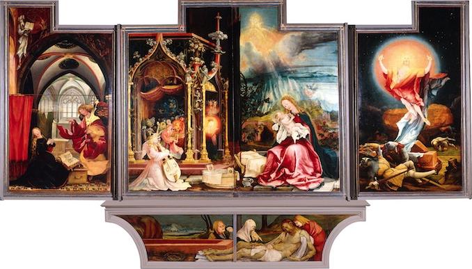 Matthias Grünewald, Isenheim Altarpiece (second position), 1510-15