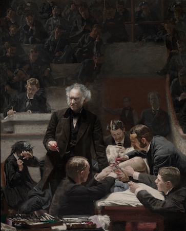 Thomas Eakins, The Gross Clinic, 1875, oil on canvas 