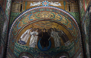 Apse mosaic (photo: Steven Zucker, CC: BY-NC-SA 2.0)