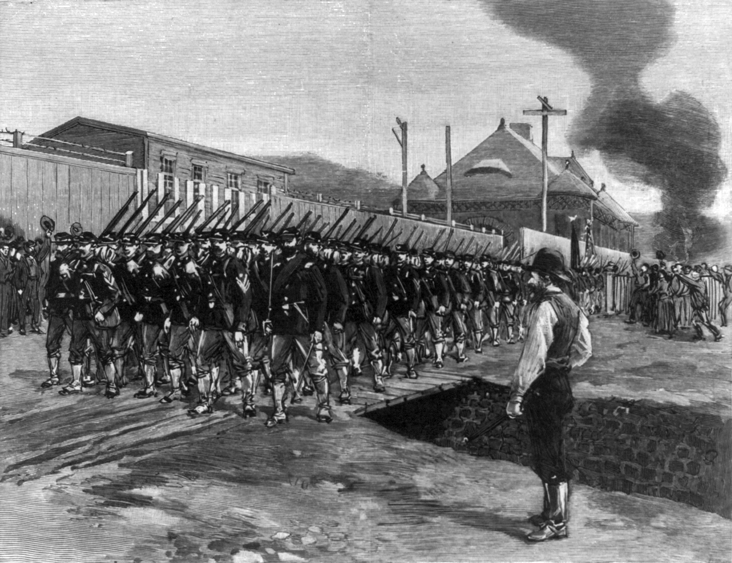 Pullman strike of 1894 thesis statment