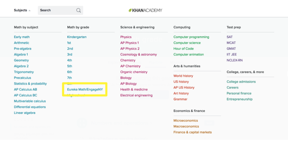 How To Use NWEA MAP Recommended Practice Article Khan Academy - Ap us history map test