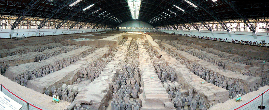 Terracotta Warriors From The Mausoleum Of The First Qin