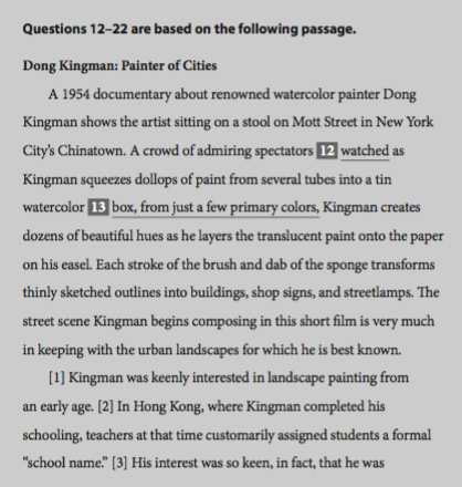 SAT Writing Section NEED HELP PLEASE!!!!?