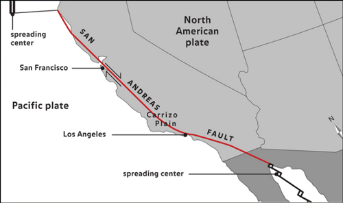 Mantle convection and plate tectonics article khan academy the san andreas is probably the best known transform fault boundary it connects the spreading east pacific rise in the gulf of california gumiabroncs Images