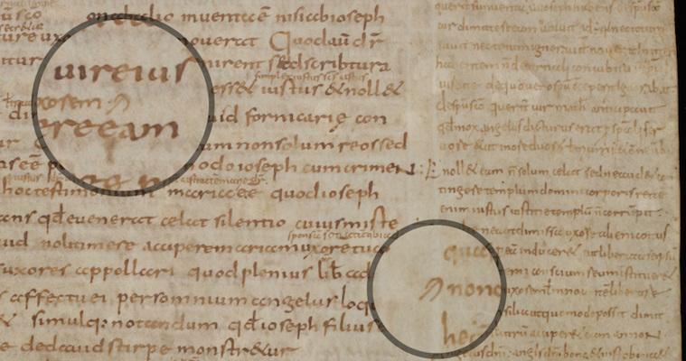 St Gall, Stiftsbibliothek, MS 4, fol. 170r (820-840)