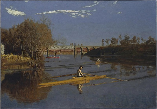 Thomas Eakins, The Champion Single Sculls (Max Schmitt In A Single Scull), 
