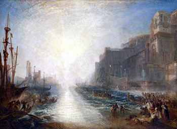 J.M.W. Turner, Regulus, 1828, reworked 1836, oil on canvas, 89.5 x 123.8 cm (Tate Britain, London)