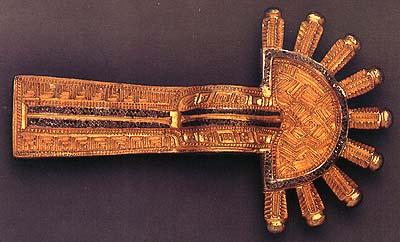 Lombardic Fibula, mid-6th century (National Museum of Slovenia)