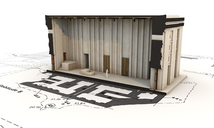 Digital reconstruction of the interior of the White Temple, Uruk (modern Warka), c, 3517-3358 B.C.E. © artefacts-berlin.de; Scientific material: German Archaeological Institute