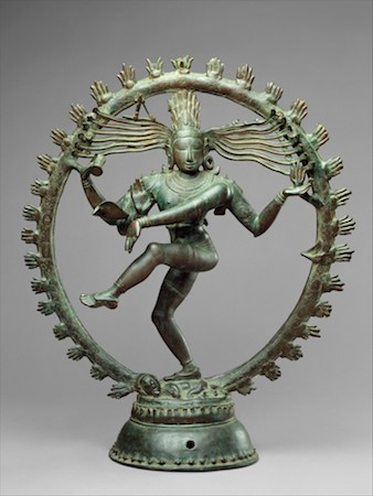 Shiva as Lord of Dance (Nataraja), Chola period, Indian (Tamil Nadu), c. 11th century, copper alloy, 68.3 cm high (The Metropolitan Museum of Art)