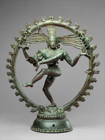 Shiva as Lord of Dance (Nataraja), Chola period, Indian (Tamil Nadu), c. 11th century, copper alloy, 68.3 cm high (The Metropolitan Museum of Art)
