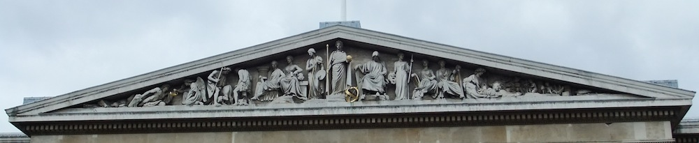 Richard Westmacott, The Rise of Civilisation, Pediment of British Museum, 1845-51 (London)