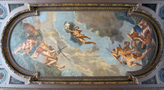 Edward Laning, Prometheus Bringing the Gift of Fire, from The Story of the Recorded Word, 1938- 1942, McGraw Rotunda, New York Public Library, New York, NY