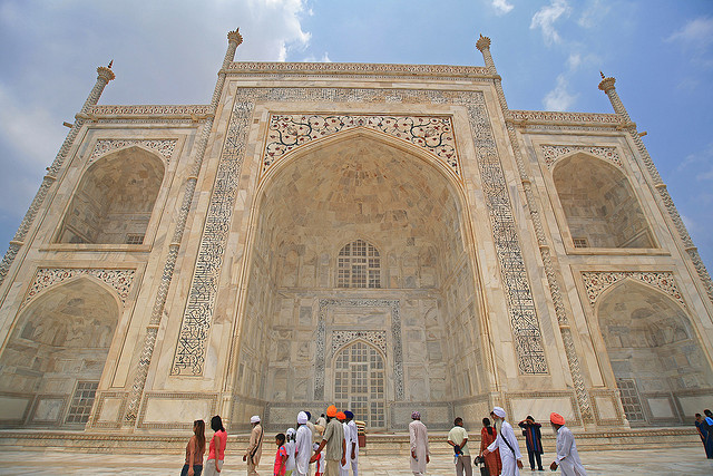 Taj Mahal, Agra, India, 1632-53 (photo: LASZLO ILYES, CC BY 2.0)