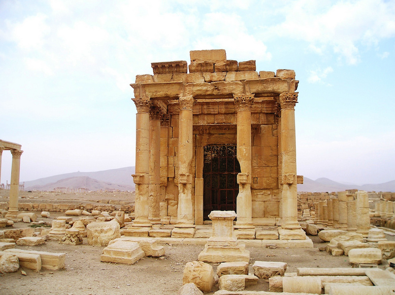 Temple of Baal Shamin, 1st century C.E. (Palmyra—in modern Syria) (photo: Verity Cridland, CC BY 2.0)