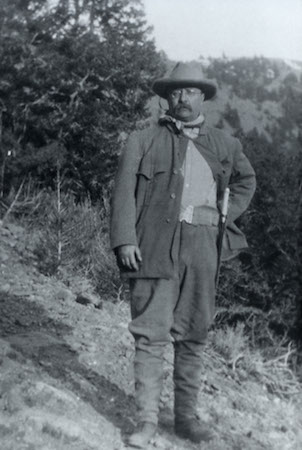 Theodore Roosevelt in Yellowstone National Park, c. 1903 ( NPS Photo)