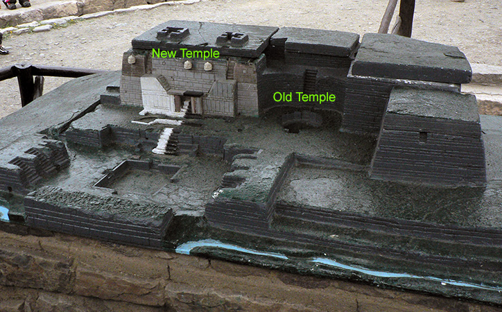 Model of the temple at Chavín de Huántar archaeological site. Peru, 900–200 B.C.E. (photo: Sarahh Scher, CC BY-NC-SA 2.0)