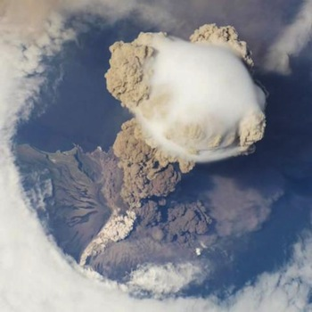 Sarychev Peak eruption, Kuril Islands, Russia Image Science & Analysis Laboratory, Johnson Space Center/NASA