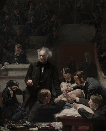 Thomas Eakins, Portrait of Dr. Samuel D. Gross (The Gross Clinic), 1875, oil on canvas, 244 x 198.2 cm (Philadelphia Museum of Art)
