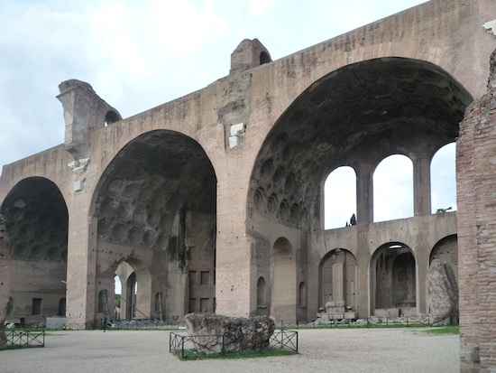 Basilica of Maxentius and Constantine, 308-312 C.E., Roman Forum, Rome