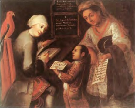 José Joaquín Magón, El Mestizo/The Mestizo, second half of the eighteenth century, oil on canvas. 102 x 126 cm (private collection)