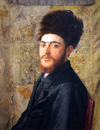 Isador Kaufmann, Man with Fur Hat, c. 1910, Vienna (The Jewish Museum, New York).