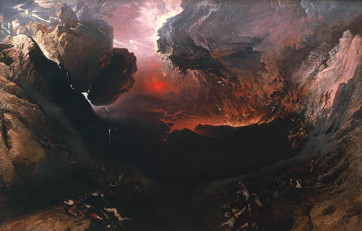 John Martin, The Great Day of His Wrath, 1851-53, oil on canvas, 197 x 303 cm (Tate Britain)