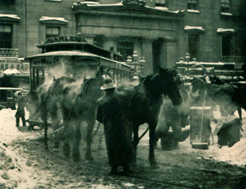 Alfred Stieglitz, The Terminal, photogravure, 1892