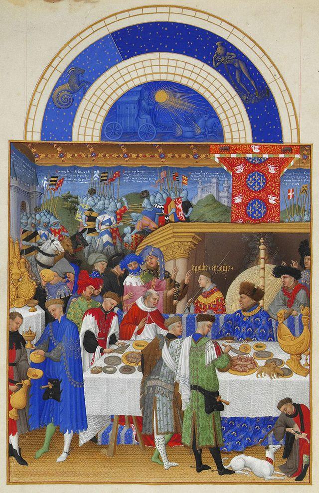 Limbourg brothers, Très Riches Heures du Duc de Berry (article ...